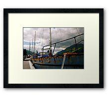 Rusty Hull. Framed Print