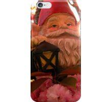 Sunset Sakura Gnome iPhone Case/Skin