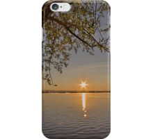 Sunrise at Lake Burley Griffin in Canberra/ACT/Australia (8) iPhone Case/Skin
