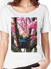 Sakura Climber Gnome Women's Relaxed Fit T-Shirt