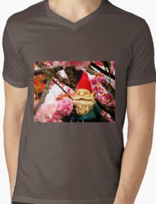 Sakura Bunches Gerome Mens V-Neck T-Shirt