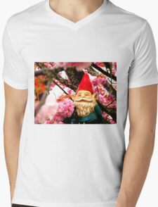 Sakura Bunches Gerome Mens V-Neck T-Shirt