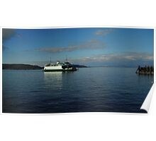 Ferry on the Puget Sound Poster
