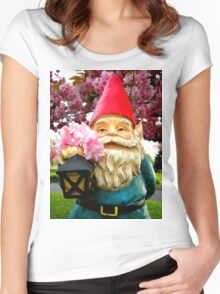 Pretty Gnome Women's Fitted Scoop T-Shirt