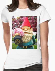 Pretty Gnome Womens Fitted T-Shirt