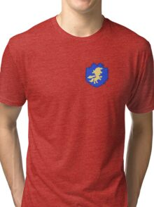 Cutie mark crusaders badge: Left Tri-blend T-Shirt