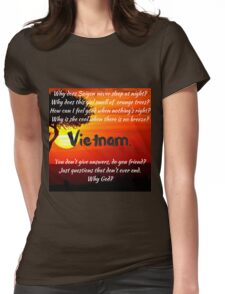 Miss Saigon - WHY GOD WHY Womens Fitted T-Shirt