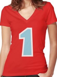 Animal Crossing Villager Women's Fitted V-Neck T-Shirt