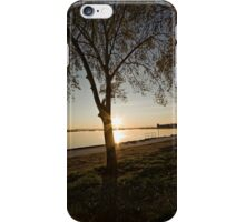 Sunrise at Lake Burley Griffin in Canberra/ACT/Australia (10) iPhone Case/Skin