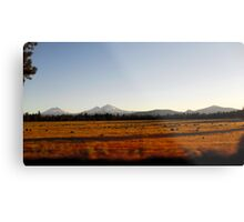Oregon Plains Metal Print