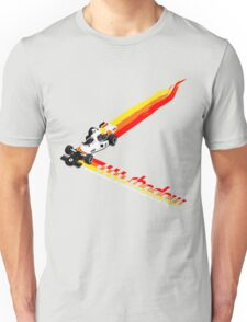 Shadow Racing Team 1975 - DN6 w/White Lettering Unisex T-Shirt