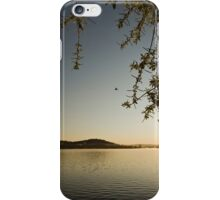 Sunrise at Lake Burley Griffin in Canberra/ACT/Australia (11) iPhone Case/Skin