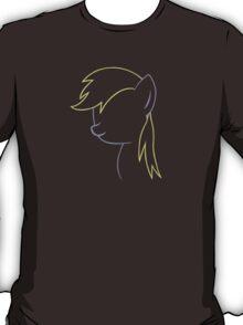 Derpy Hooves Outline T-Shirt