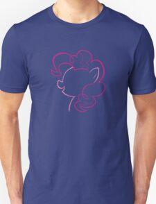 Pinkie Pie Outline Unisex T-Shirt
