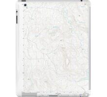USGS Topo Map Oregon Upton Mountain 20110831 TM iPad Case/Skin