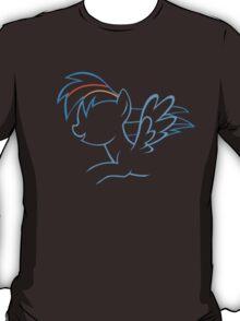 RainbowDash Outline T-Shirt
