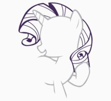 Rarity Outline by LcPsycho