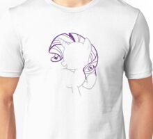 Rarity Outline Unisex T-Shirt