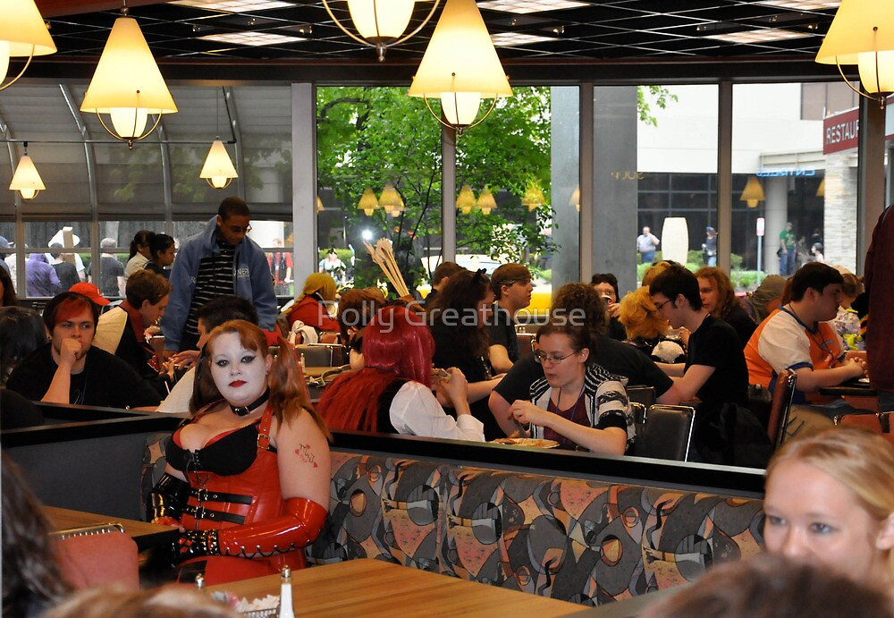 Cafe Muse by Polly Greathouse