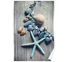 Sea Stars and Sea Stones Poster
