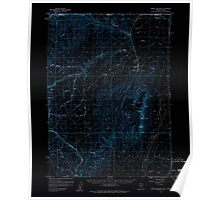 USGS Topo Map Nevada Jordan Meadow 321023 1959 62500 Inverted Poster