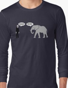 Silence vs. Elephant Long Sleeve T-Shirt