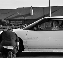 Plumbers Car by Polly Greathouse
