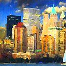 New York City II - Manhattan by Chris Armytage™