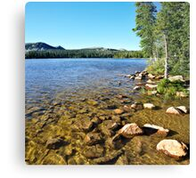 Mirror Lake, Shallow Water, Utah Canvas Print