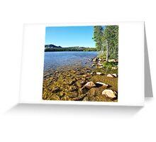 Mirror Lake, Shallow Water, Utah Greeting Card