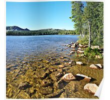 Mirror Lake, Shallow Water, Utah Poster