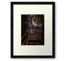 Bridge to Wonderland Framed Print