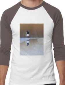The Low Lighthouse, Burnham On Sea Men's Baseball ¾ T-Shirt