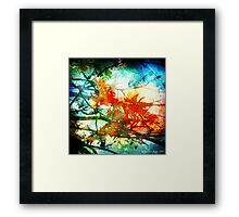 Coral Tree (Watercolour Effect) Framed Print