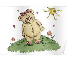 cuddly teddy Poster