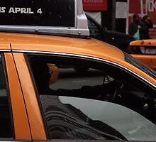 Taxi, New York City by J Forsyth
