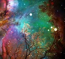 Galactic Trees by AlyZen