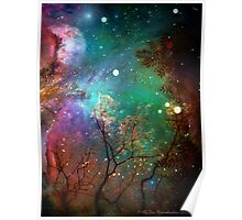 Galactic Trees Poster