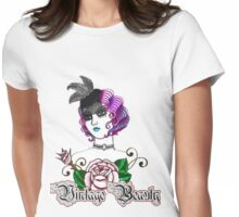 vintage beauty Womens Fitted T-Shirt