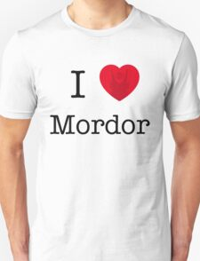 I LOVE MORDOR T-Shirt