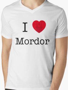 I LOVE MORDOR Mens V-Neck T-Shirt