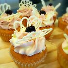 Berry & Chocolate Butterfly - Cupcake - NZ by AndreaEL