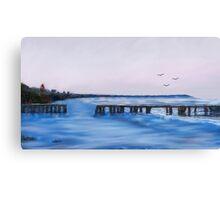Beach Blues Canvas Print