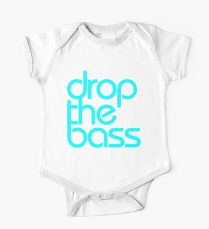 Drop The Bass (cyan) One Piece - Short Sleeve