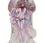 Art Nouveau Vampire by LilyM