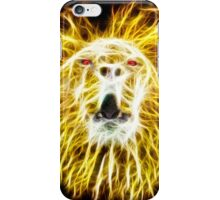 Lion on Fire iPhone Case/Skin