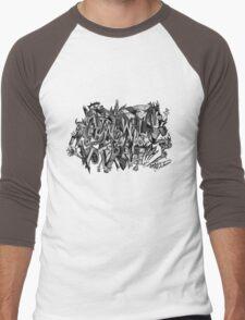Longing for Picasso Men's Baseball ¾ T-Shirt