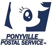 Ponyville Postal Service (Work Shirt) by Mirisha