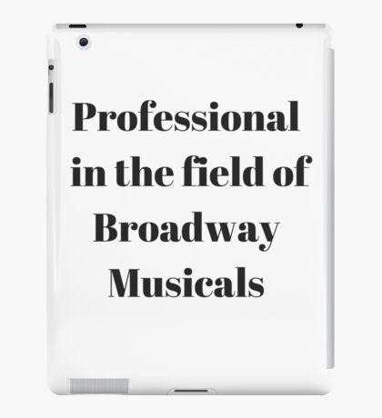Broadway Musicals iPad Case/Skin