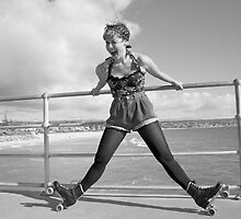 rockabilly roller girl by wildwomenlove